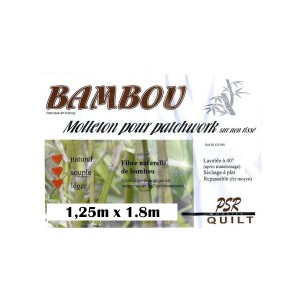 molleton bambou naturel