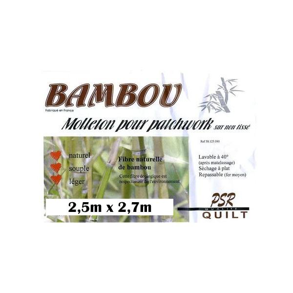 grand molleton en fibre de bambou