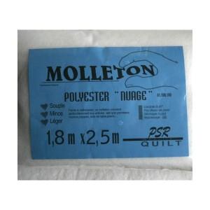 molleton nuage polyester