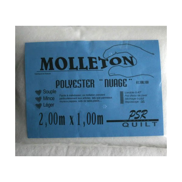 ollet polyester nuage