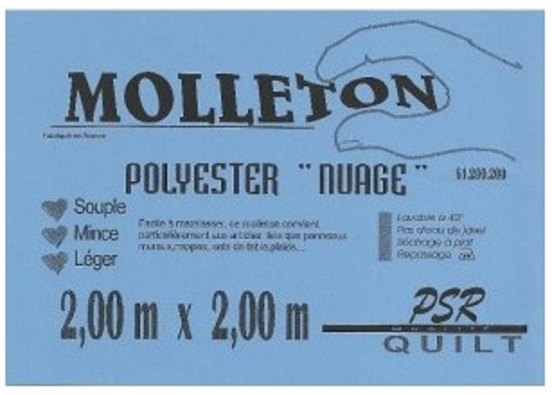 molleton nuage polyester PSR quilt