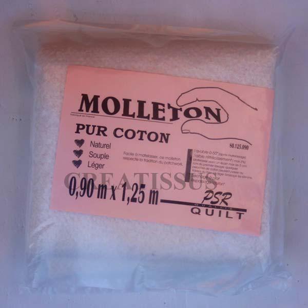Molleton pur coton